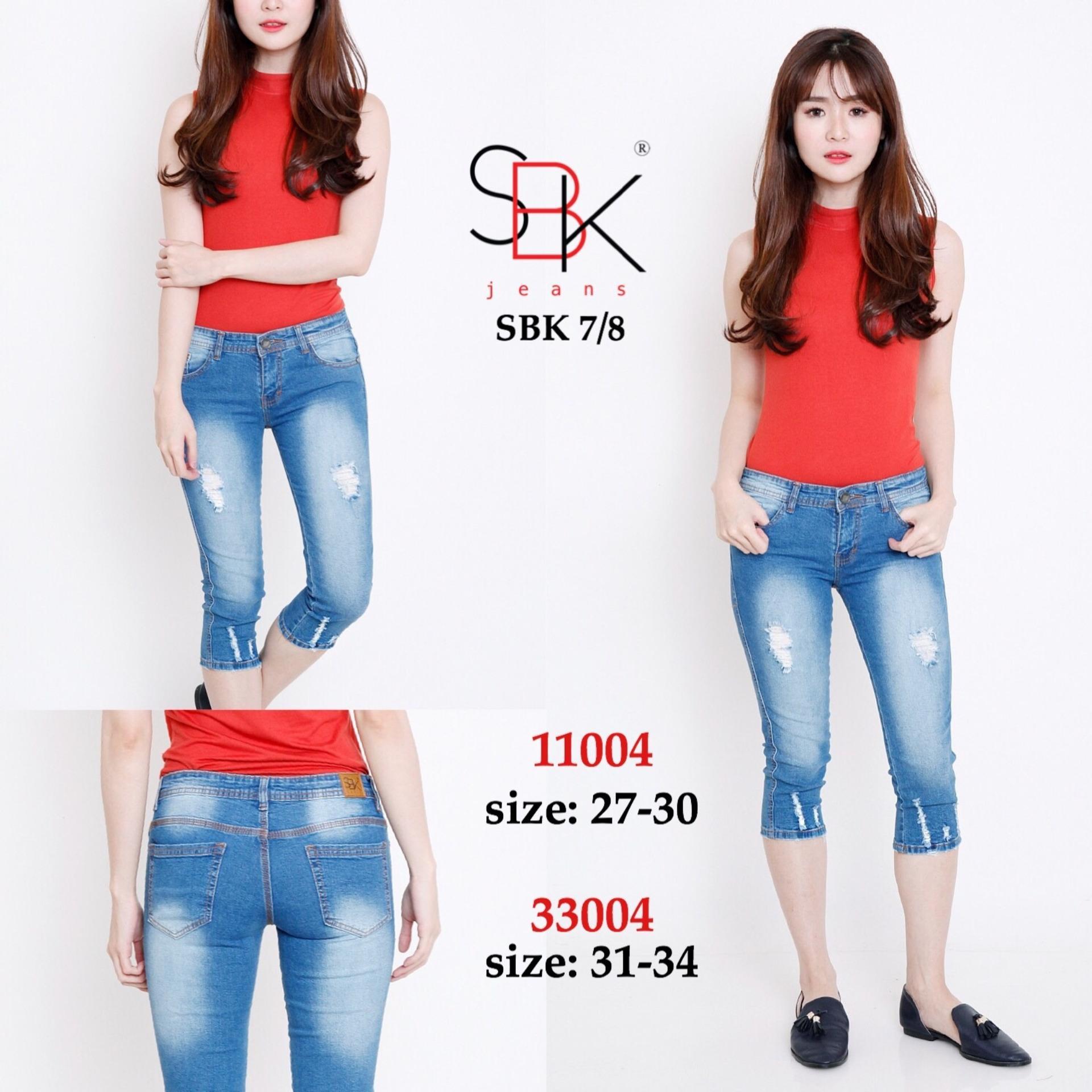 Spesifikasi Celana Jeans Wanita 7 8 Premium Sbk 11004 Bagus
