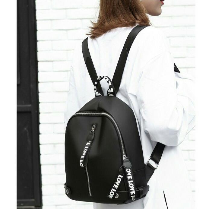Detail Gambar Tas Ransel Backpack ABG Remaja Wanita Import Korea CS-BP 12 Terbaru