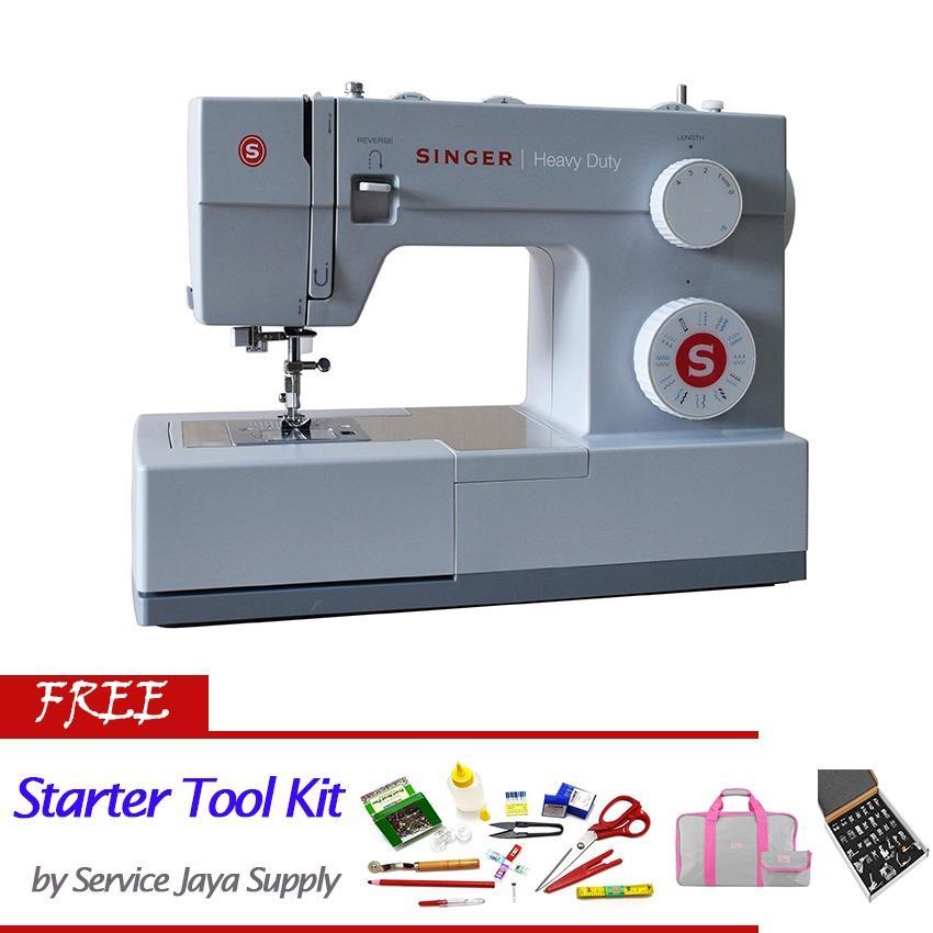 Harga Singer 4423 Mesin Jahit Digital Putih Free Sjs Starter Kit Fullset Murah