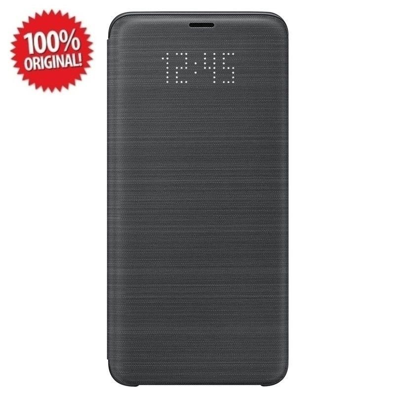 Samsung Original LED View Cover Samsung Galaxy S9 Plus (G965) - Hitam