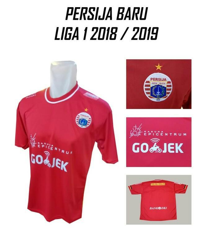 Beli Jersey Lokal Persija Jakarta Home Merah Grade Lokal