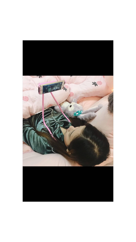 Fitur Lazy Neck Original Holder Hp Flexibel Bs Gantung Dileher Handphone Leher Tiduran Zh