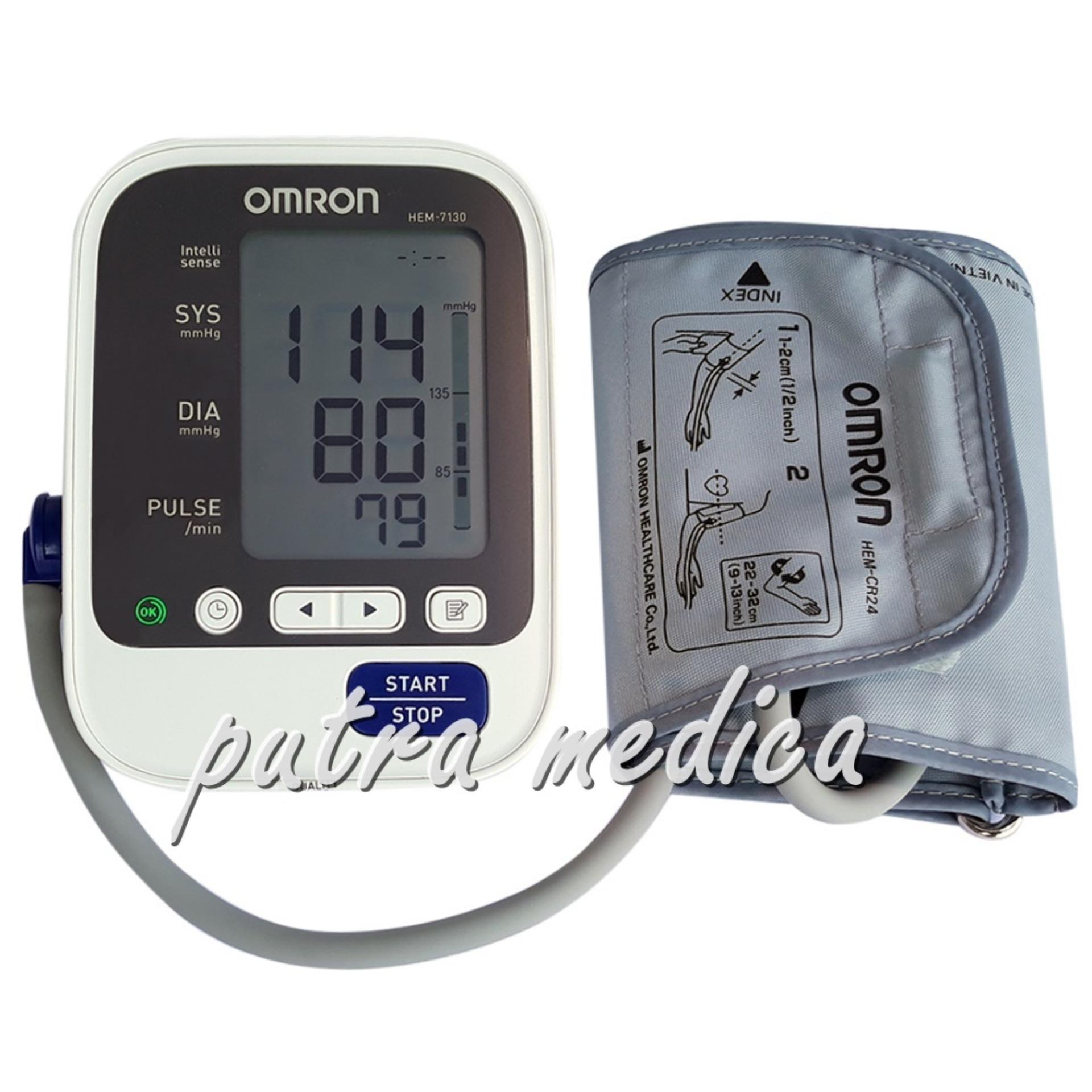 Harga Putra Medica Omron Tensimeter Digital Hem 7130 Tensi Elektrik Berkualitas Alat Ukur Pengukur Tekanan Darah Original