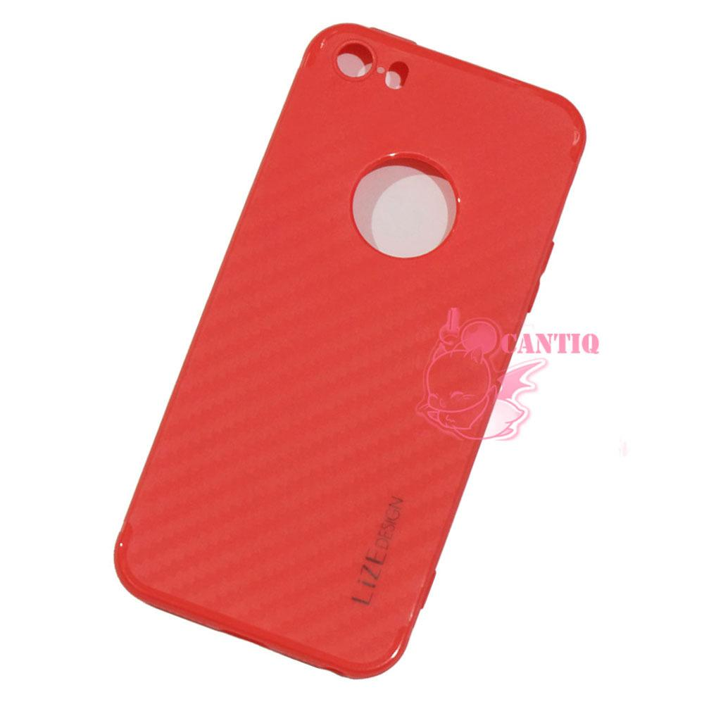 Lize Carbon Softcase Apple Iphone 5 / iPhone 5G / Iphone 5S Softshell / Soft Case