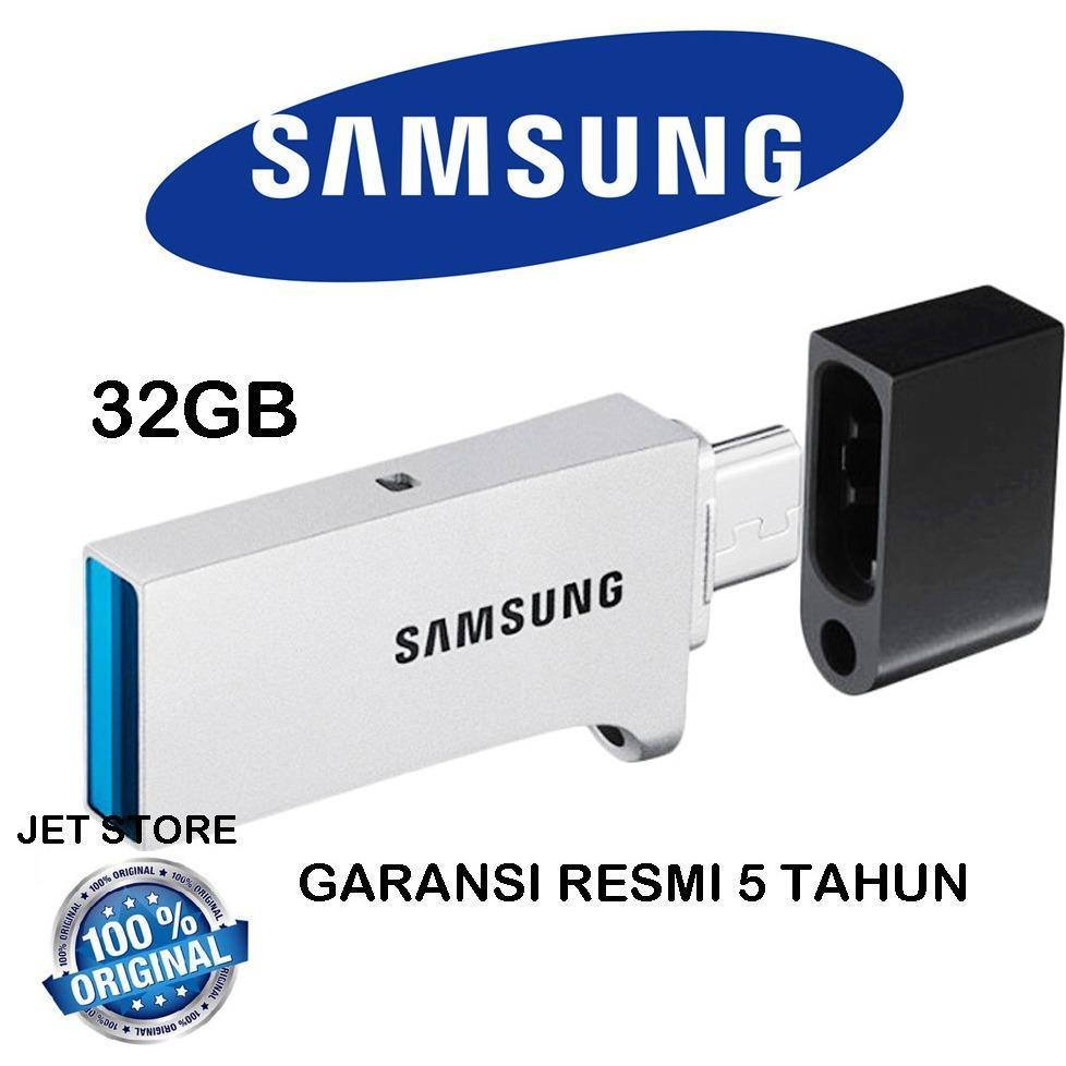 Promo Samsung Flashdisk Usb 3 Otg 32Gb Dual Drive Dki Jakarta