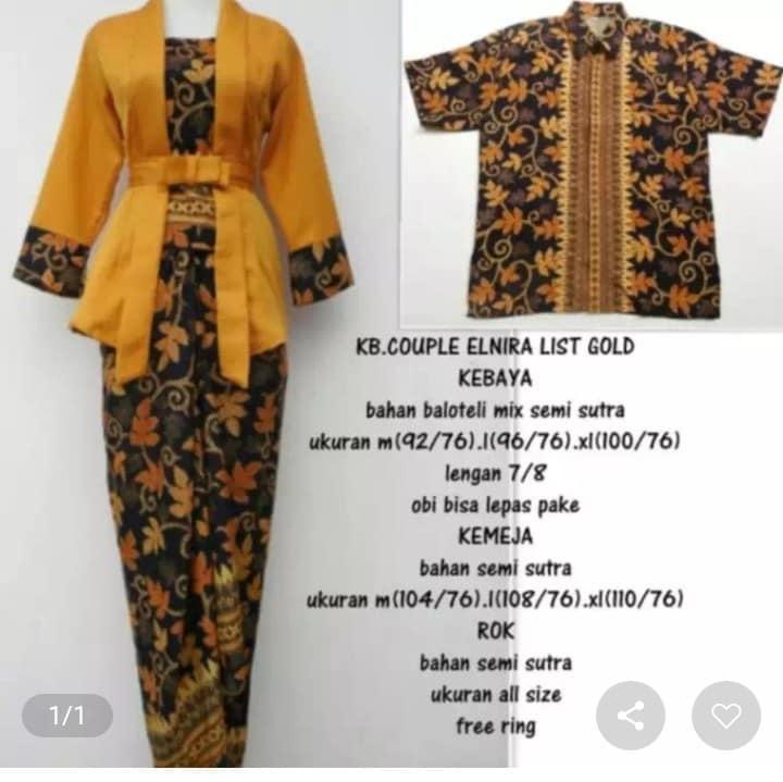setelan kebaya modern couple   baju batik wanita   kebaya tradisional    kebaya kartini  kebaya 6aaf5a8324