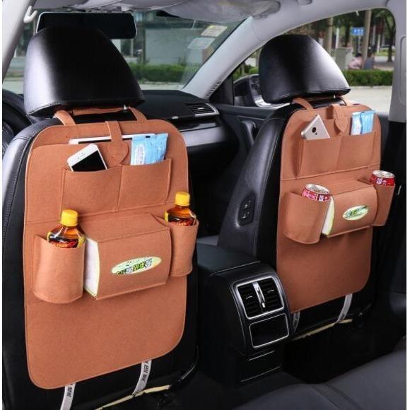 283 Car seat organizer Tas Mobil Multifungsi dipasang di belakang jok