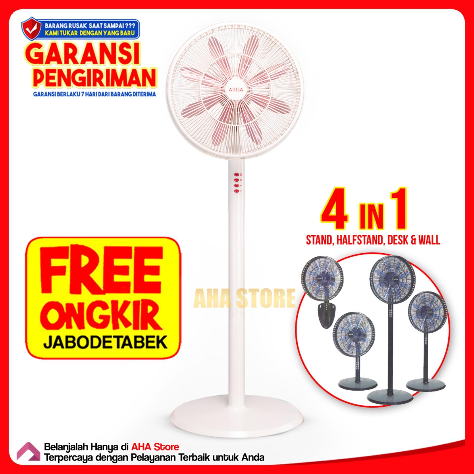 Features Arisa Kipas Angin 4 In 1 Fa 1601 Free Ongkir Jabodetabek Starco If 318 18 Inch