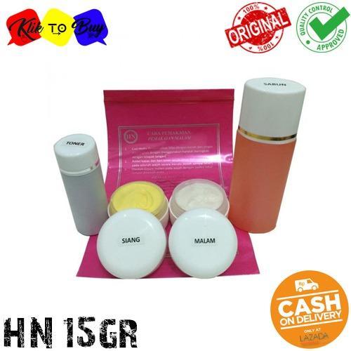 Paket HN Cream Pemutih Wajah Original - 15 Gr