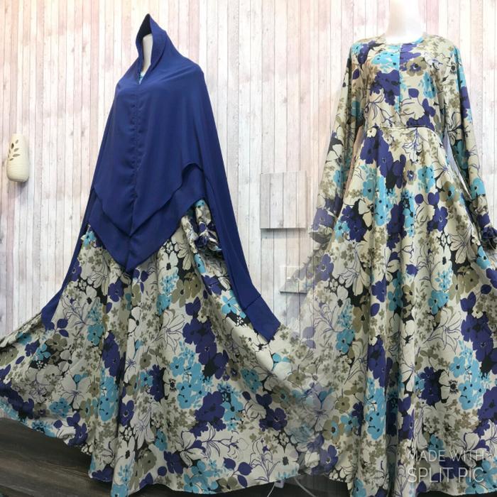 Cek Harga Baru Adzra Gamis Murah Syari Busana Muslim Wanita Zahira