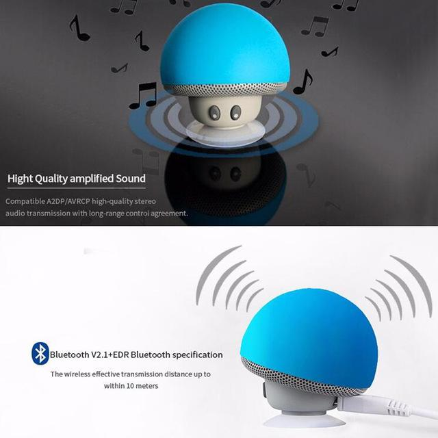 Detail Gambar Lumin CY280 Mushroom Bluetooth Speaker Terbaru