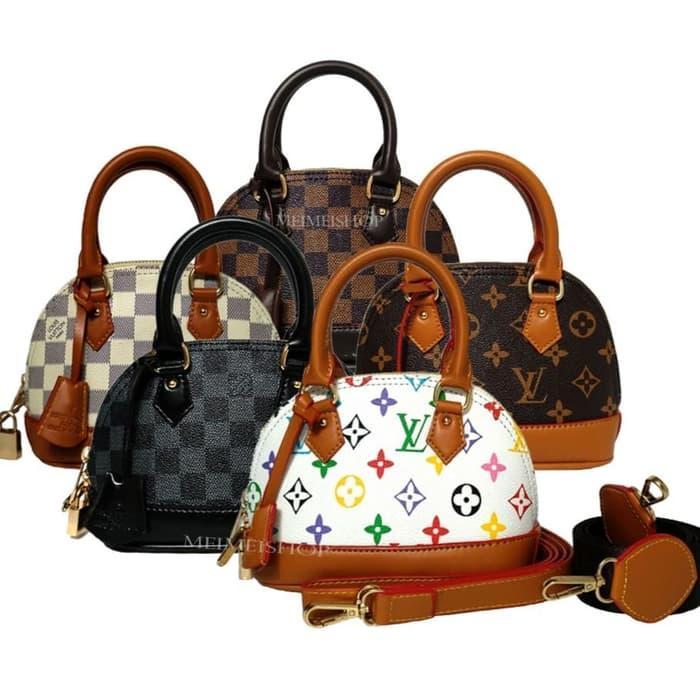 PROMO Tas wanita Tas Lv alma mini double straps tas import wanita batam -  tNIeWyAR bc4d7098dc