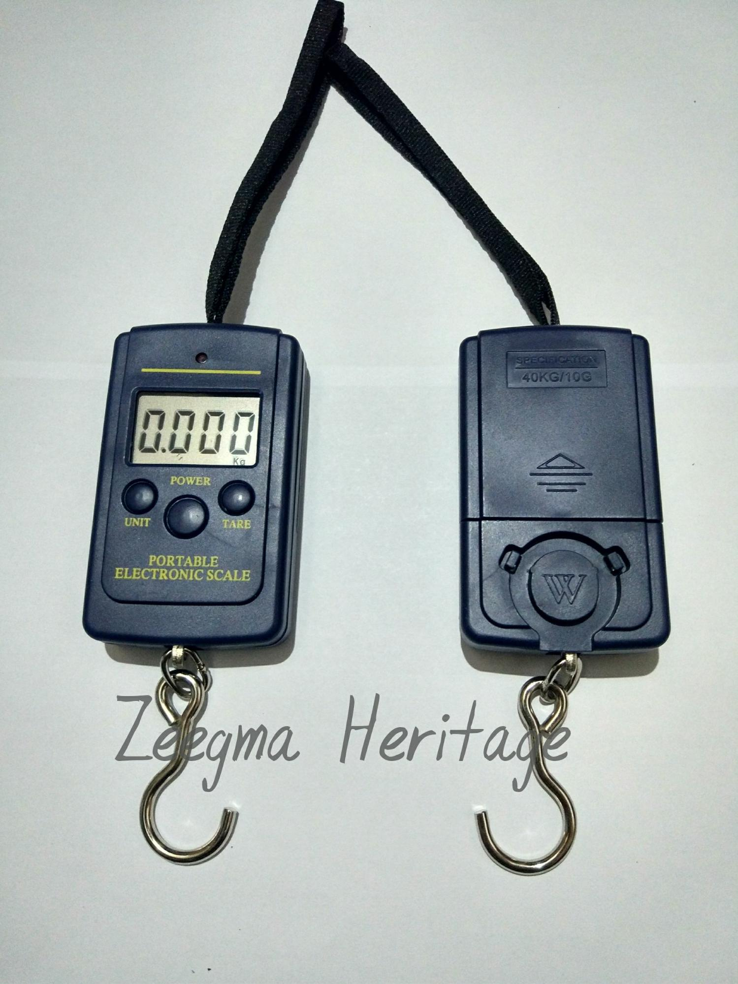 Timbangan Gantung Digital Scale Portable Elektronik 40 Kg