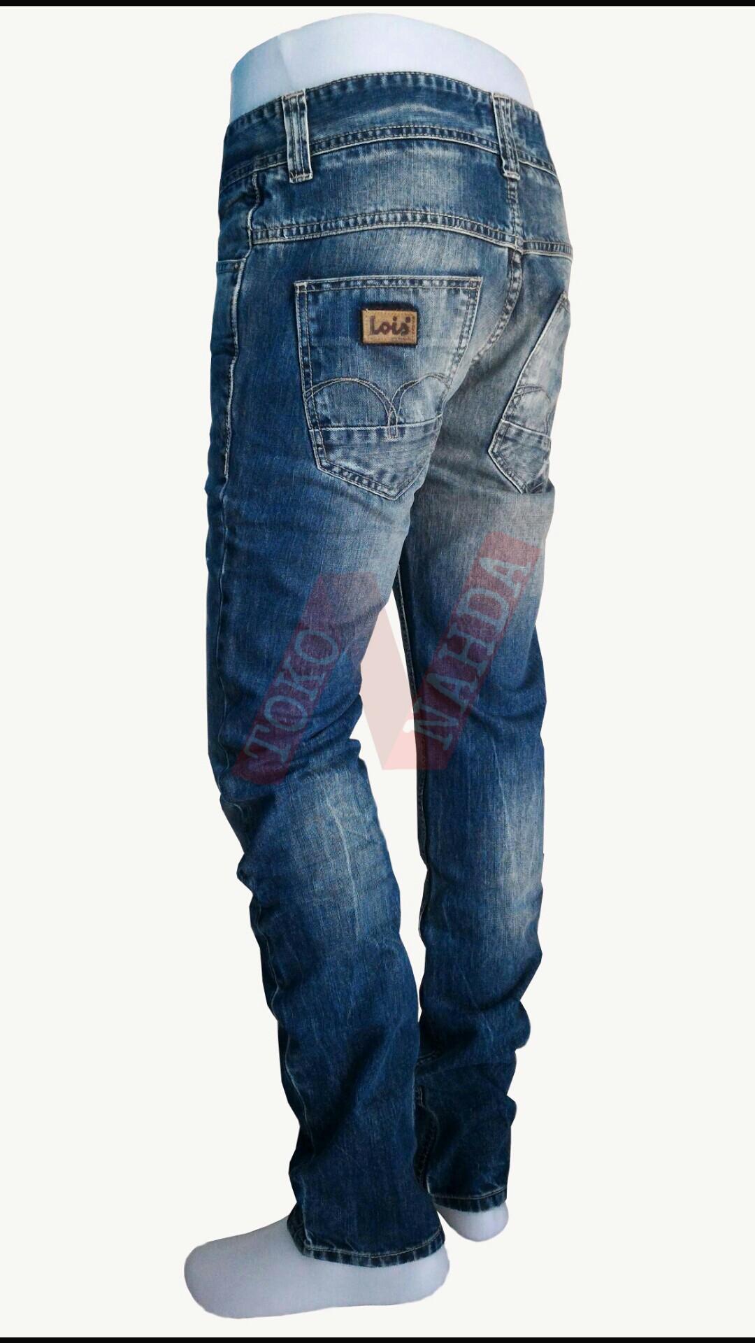 Celana Jeans Lois Regullar Fitt Biru Daftar Harga Terbaru Edwin Edw 2211 560 Regular Fit Pria Panjang 36 Detail Gambar Original Slim Cfl351f Ripped