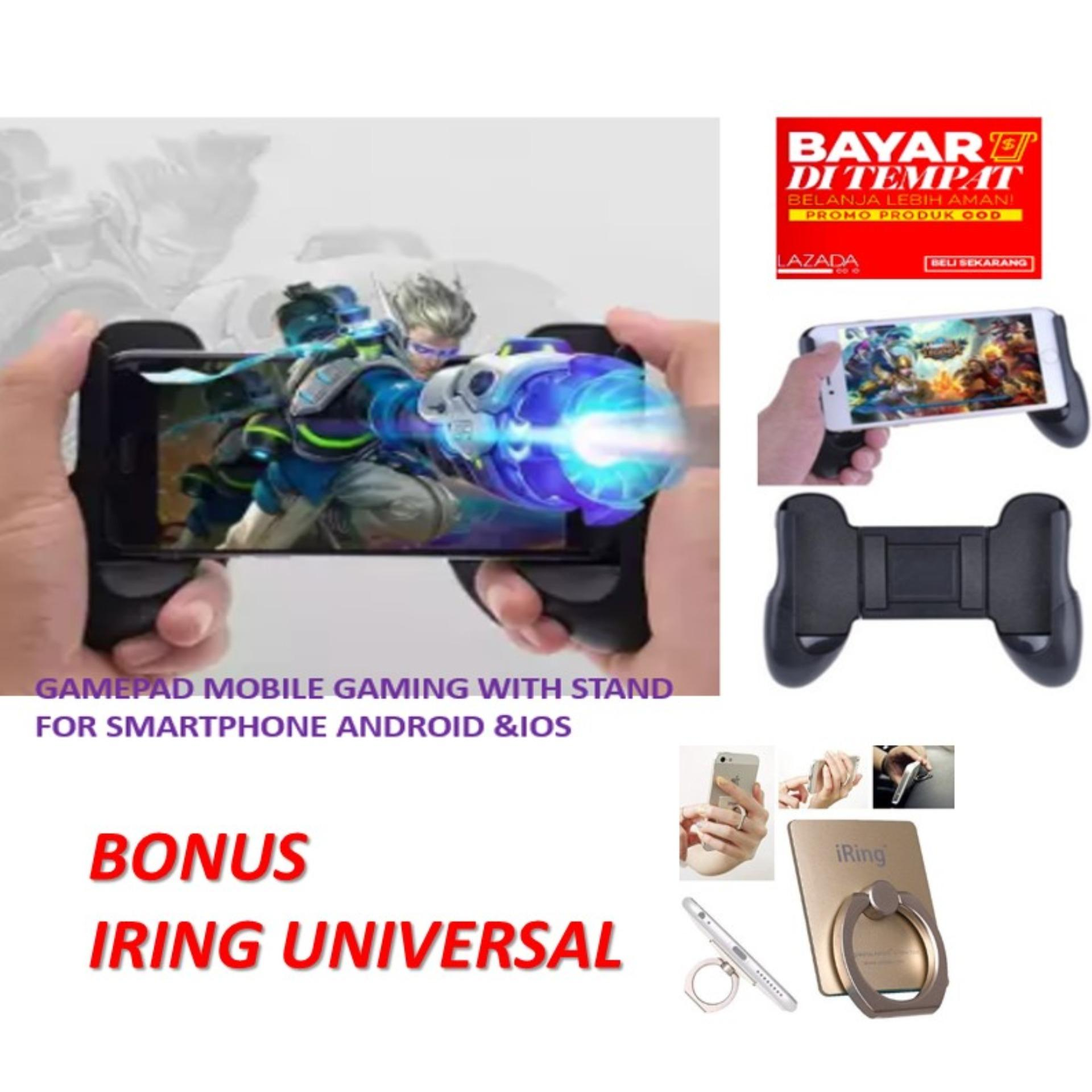 gamepad – mobile holder bisa standing untuk gaming – bisa semua jenis hp android & ios universal for mobile legend/ aov / pubg/ ros/ gamepad mobile / gamepad untuk pegangan mobile game universal bonus iring hp