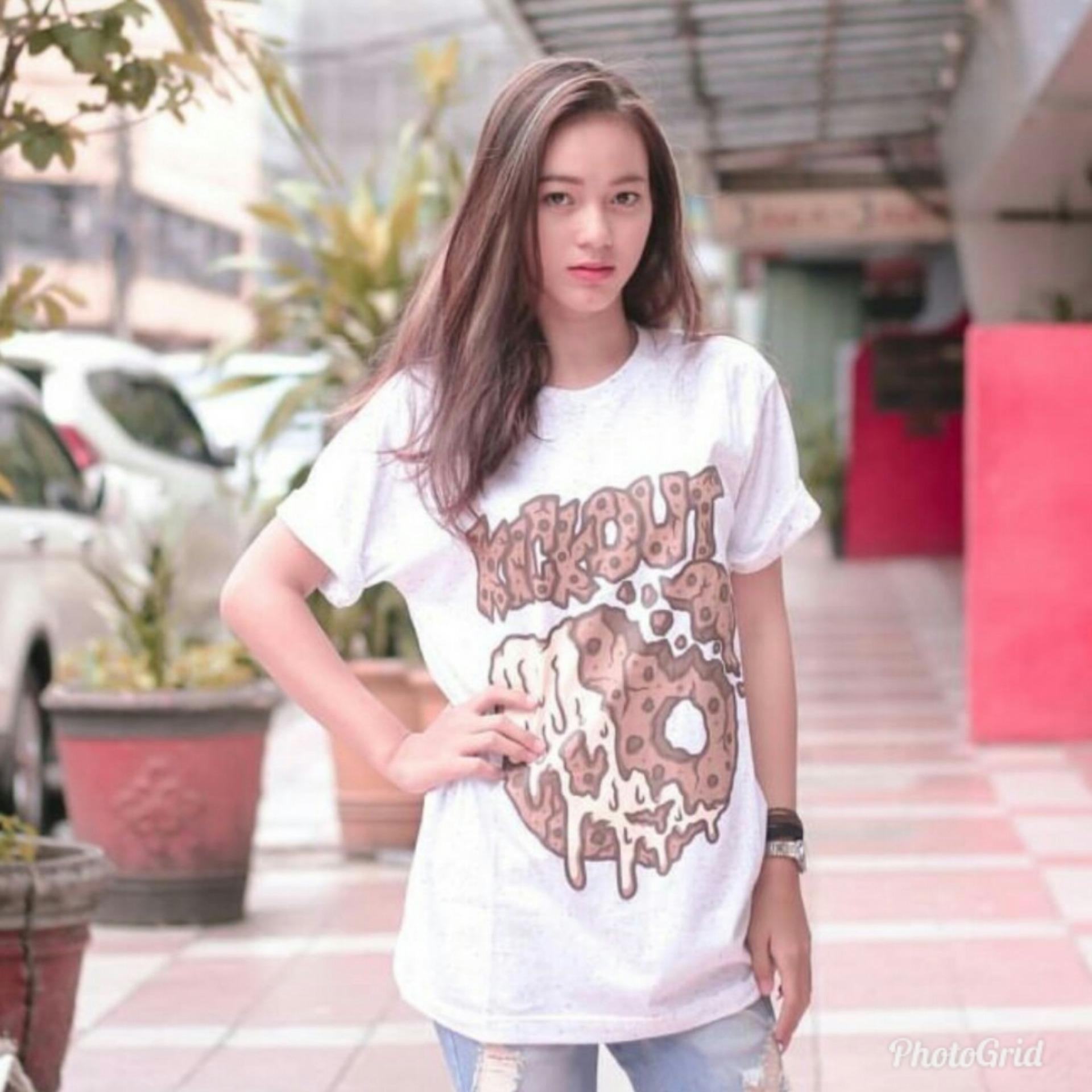 GRT Tumblr Tee T-Shirt BTS T-shirt Wanita Kaos Cewek Tumblr Tee Cewek