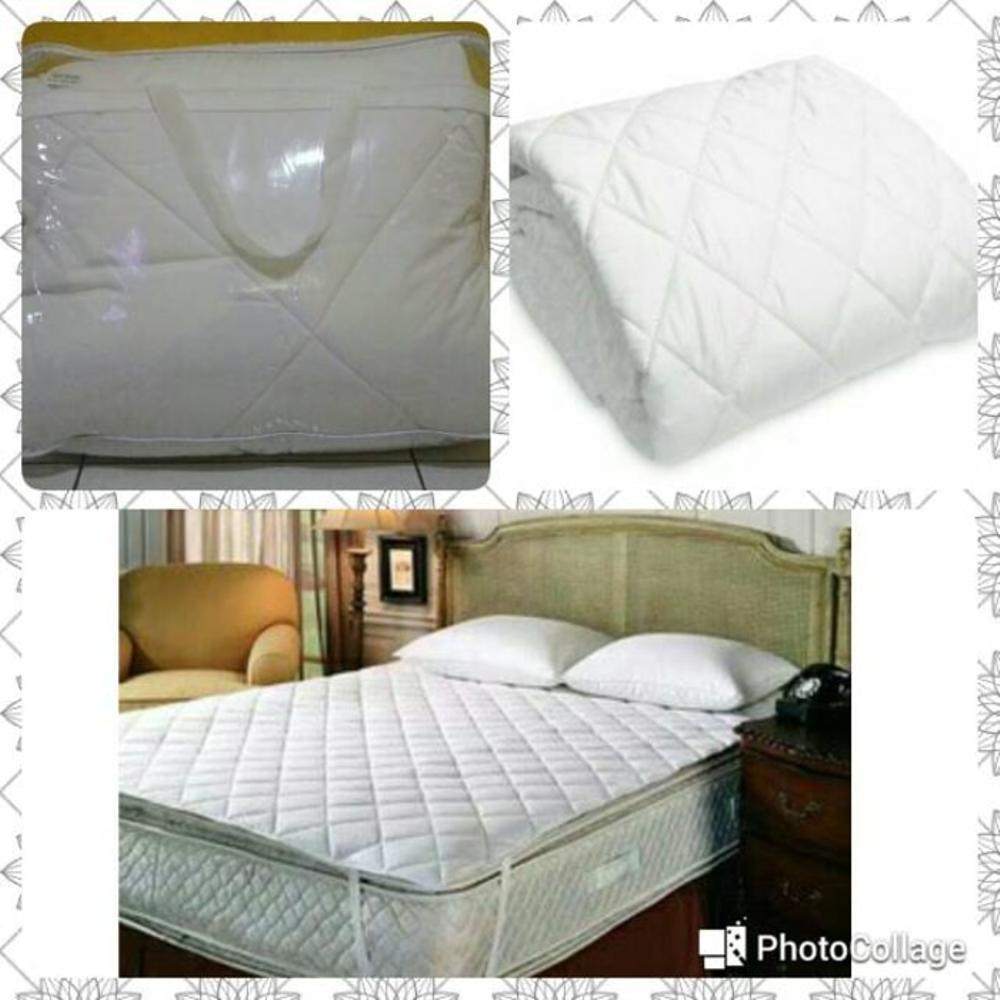 Matras Cover pelindung Spring Bed uk Single