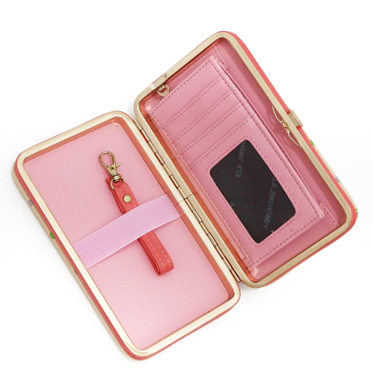 Gambar Produk Rinci Jims Honey - Best Seller Wallet Import - Lady Wallet (Black) Terkini
