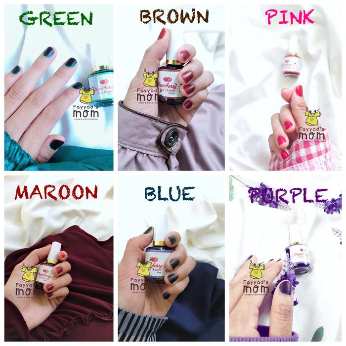 Fitur Strawberry Nail Henna Kutek Kuku Henna All Varian 15ml Dan