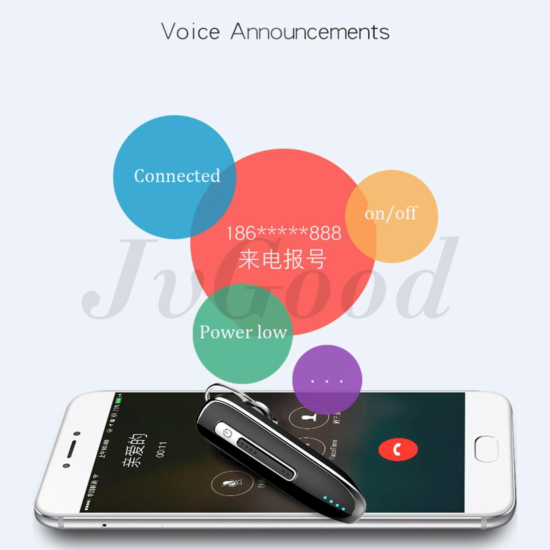 JvGood Wireless Earbuds Necklace Earphones Bluetooth Headsets Hands free Earphones Mono Dual Channel Headphones