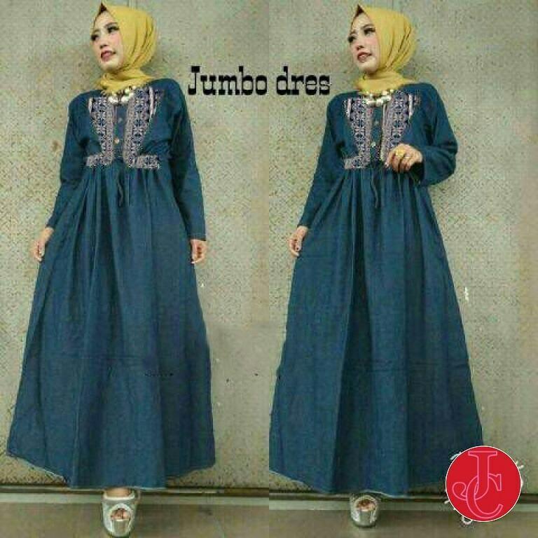 J&C Jumbo Maxi Dress / Dress Maxi / Jumbo Dress / Maxi Jumbo / Maxi Muslim / Maxi Dress / Dress Muslim / Busana Muslim / Baju Muslim / Setelan Muslim / Hijab Fashion / Hijab Style