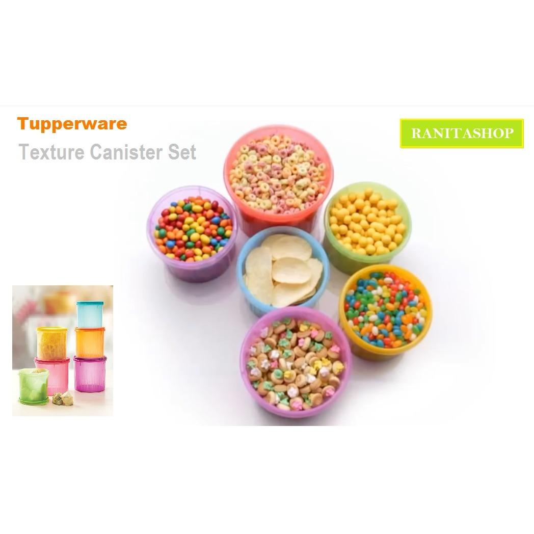 Tupperware Texture Canister set (6 pcs)
