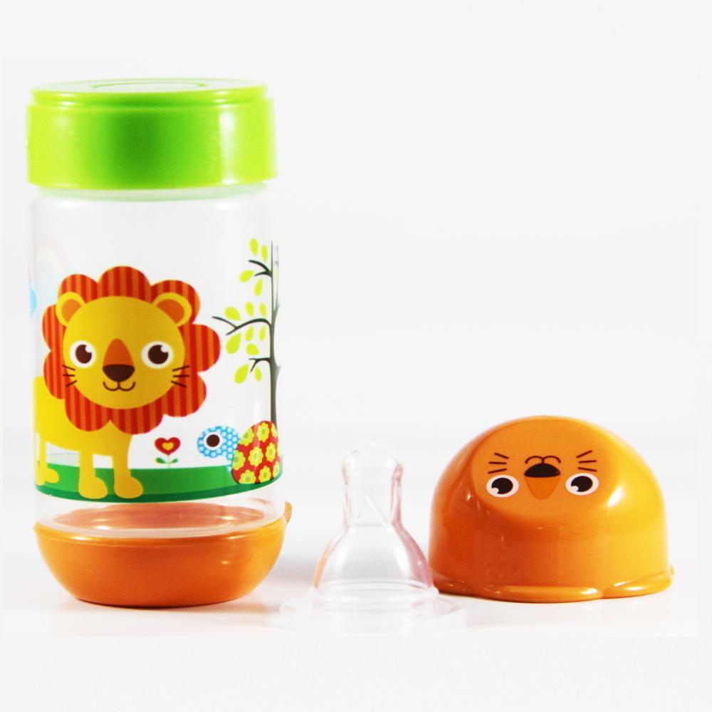 ... Baby Safe Botol Susu Bayi 125ml Motif Lion Orange / Botol Susu Anak Bayi Karakter ...