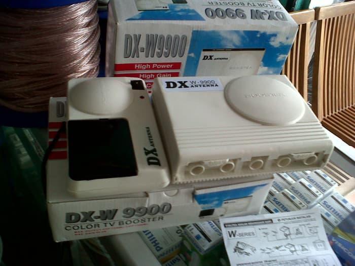 ... Booster DX W 9900 PF VHF UHF TV Antenna Gambar Langsung Jernih - 3