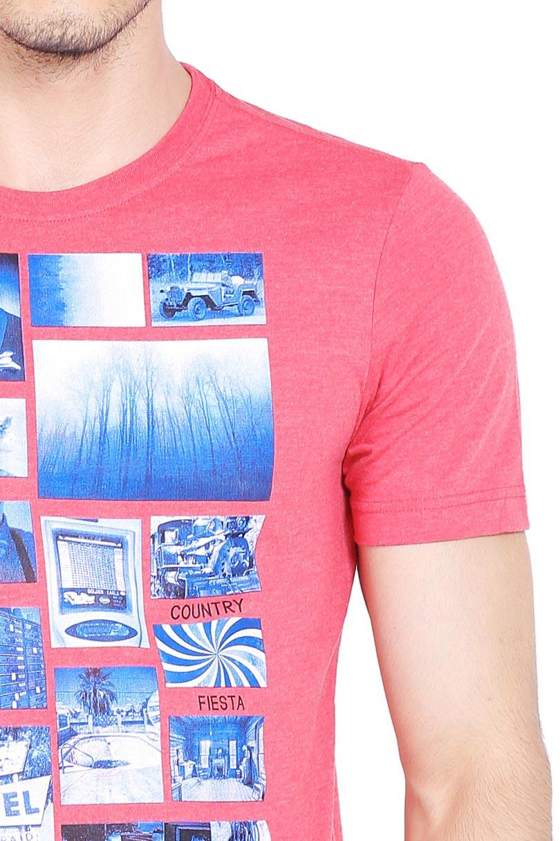 Cek Country Fiesta T Shirt Kaos Pria Mens Tshirt Fashion Red Dan ... 0b1a7af1f4