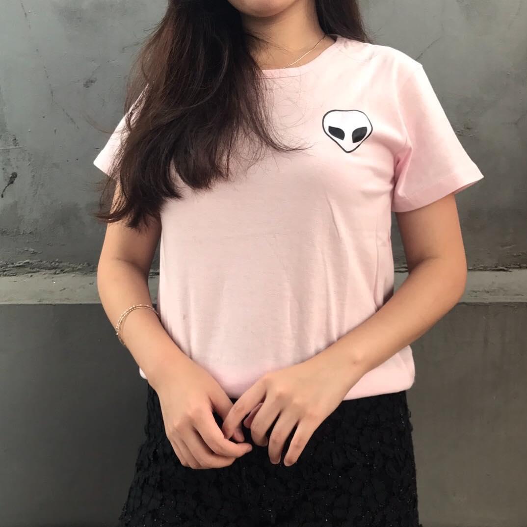 YGTSHIRT - T-shirt Baju ALIEN Tumblr Tee Cewek / Kaos Wanita / Tshirt Cewe