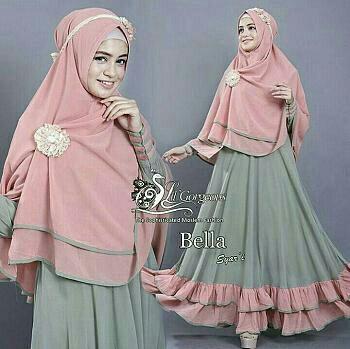Features Hagiosholic Jumpsuit Fila Merah Hitam Navy Dress Muslimah