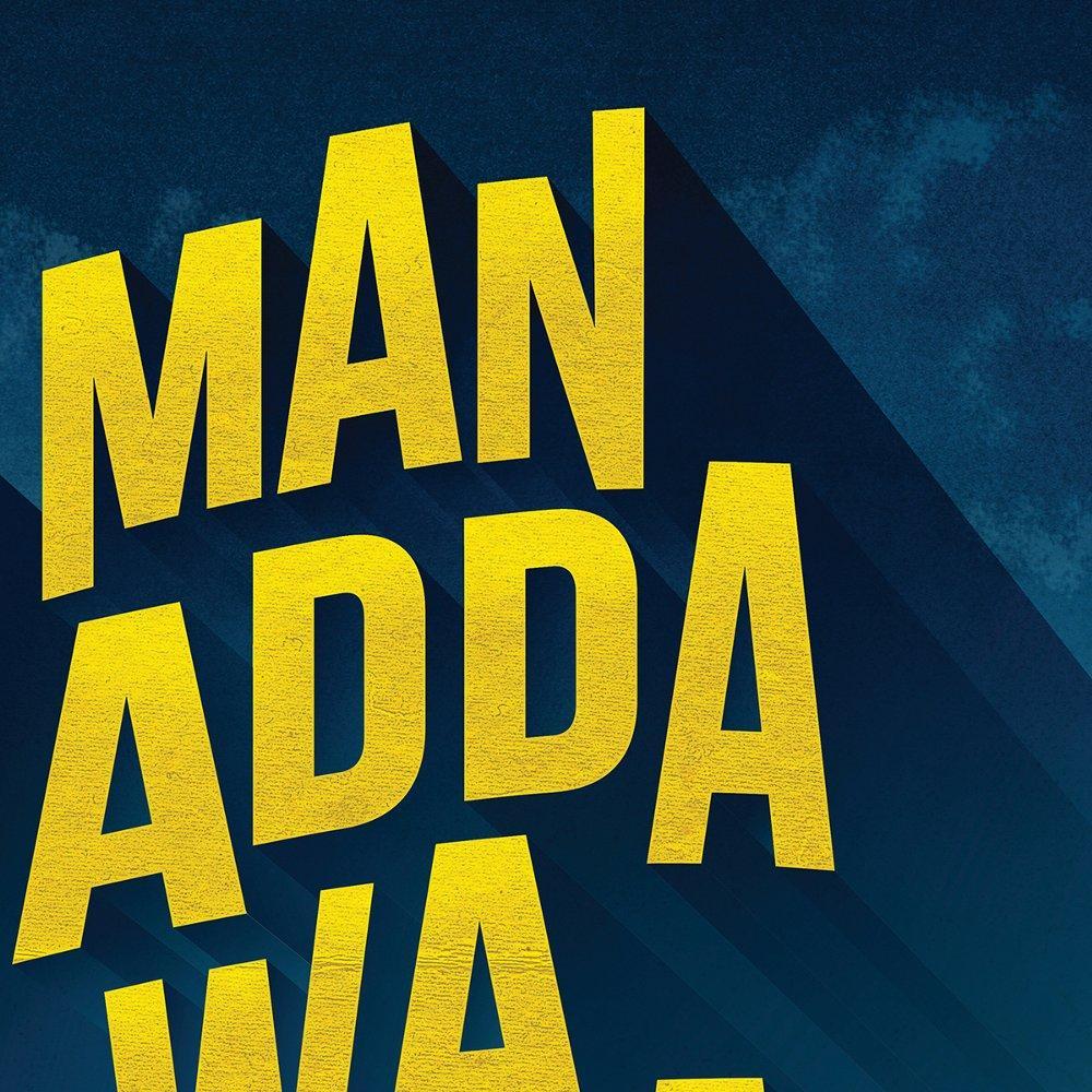 ... Poster Motivasi Islami - Man Jadda wa Jada - Hiasan Dinding Pigura Frame Bingkai A4 di