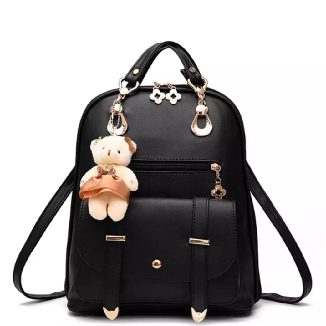 ULTIMATE TAS Ransel Selempang Wanita Branded Import Korea Doll Backpack