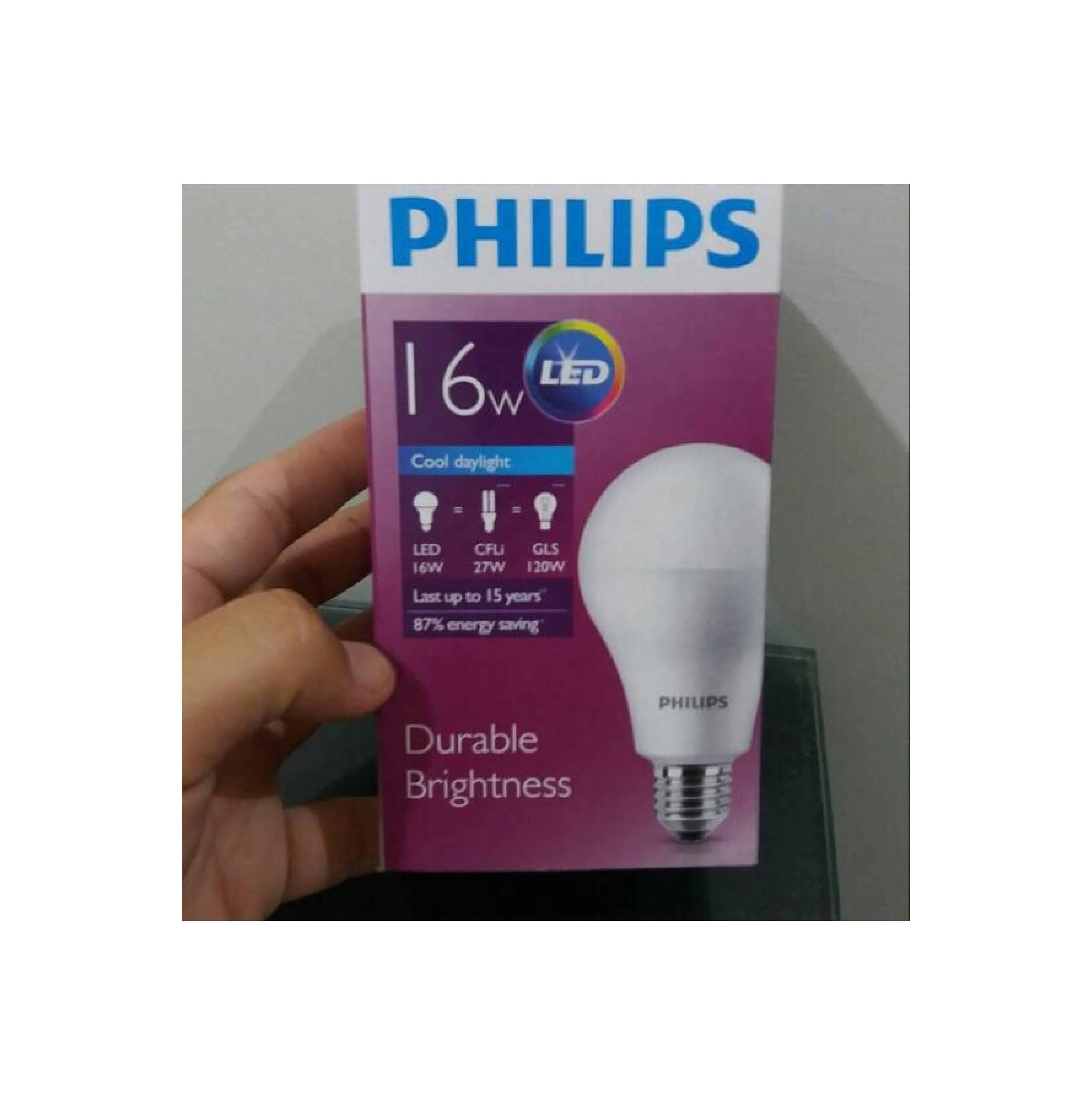 1pcs Lampu Bohlam Led Philips 18wwatt 130watt Putih Referensi 105 Watt 105watt W Min  12pcs 16