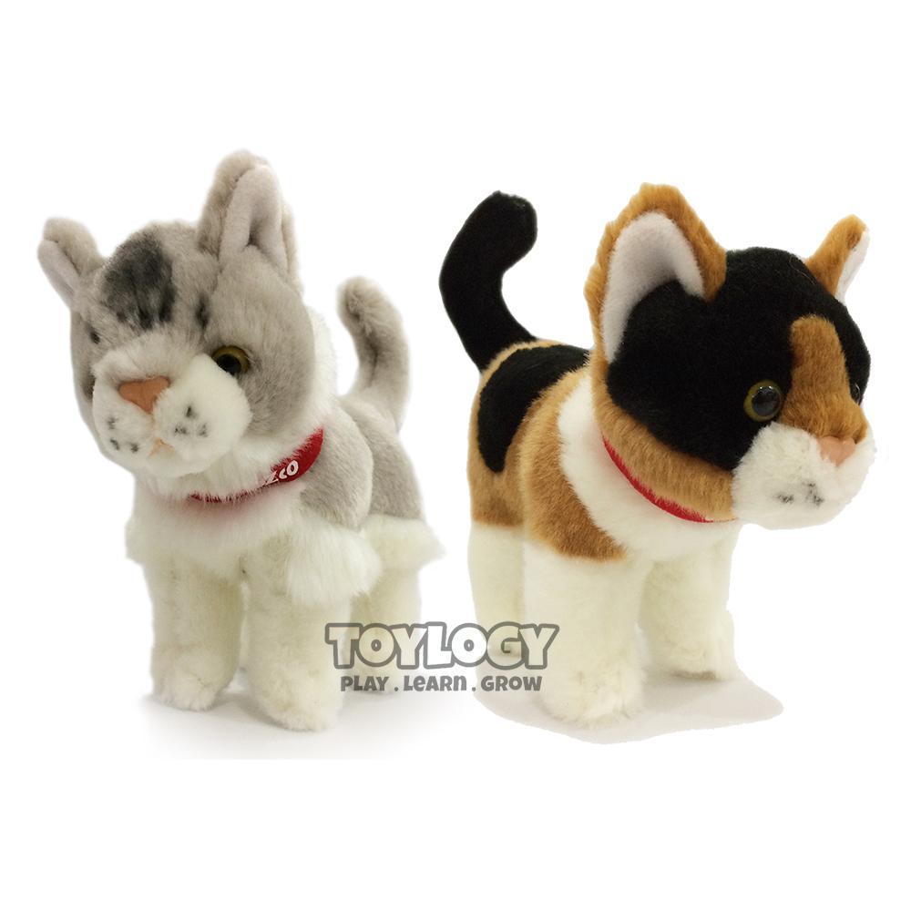 Review Boneka Kucing Berjalan Dan Harga Terbaru Informasi Exclusive Free Sisir Paket Maine Coon Calico 7 Inch