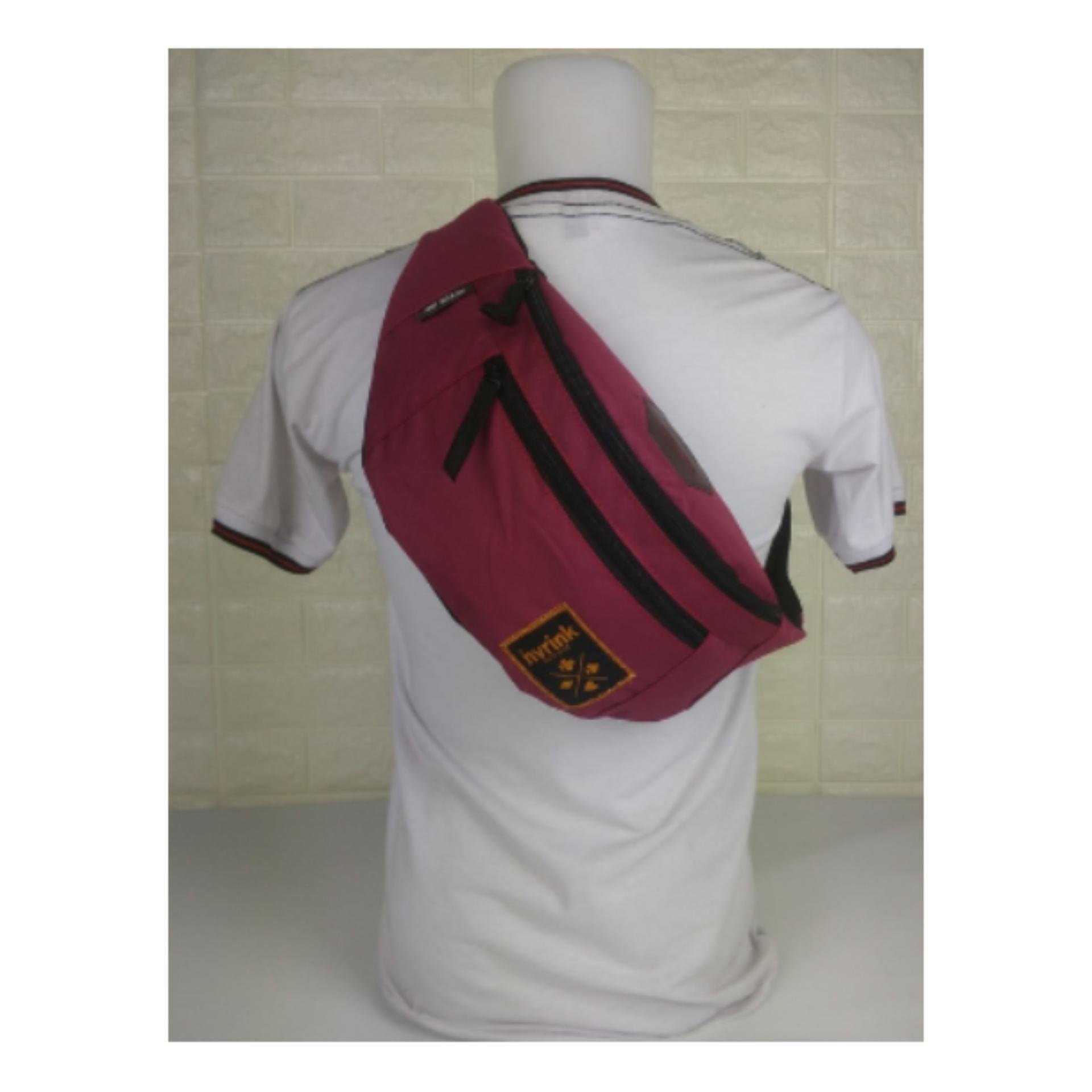 tas dada/cowok/punggung/terbaru/pinggang/slempang/waistbag/pria nev ab