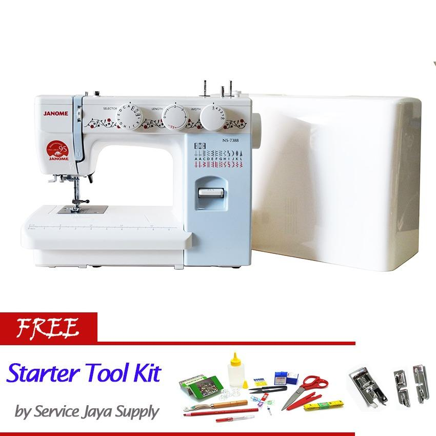 Jual Janome Ns 7388 Mesin Jahit Portable Multifungsi Free Sjs Starter Kit Branded Original