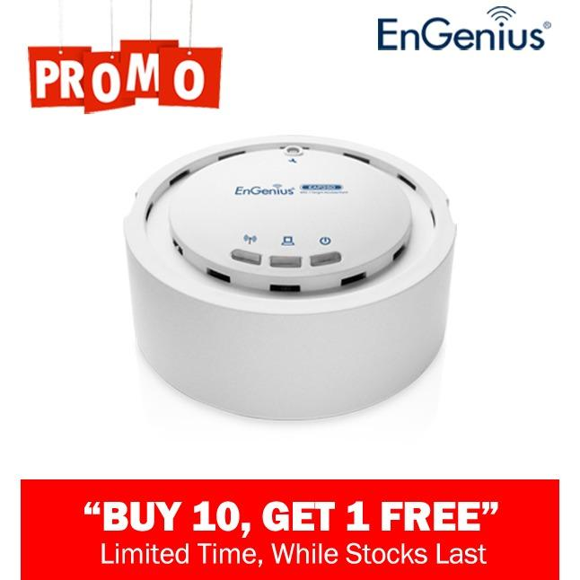Diskon Besarengenius Eap350 High Powered Long Range Ceiling Mount Wireless N300 Indoor Access Point
