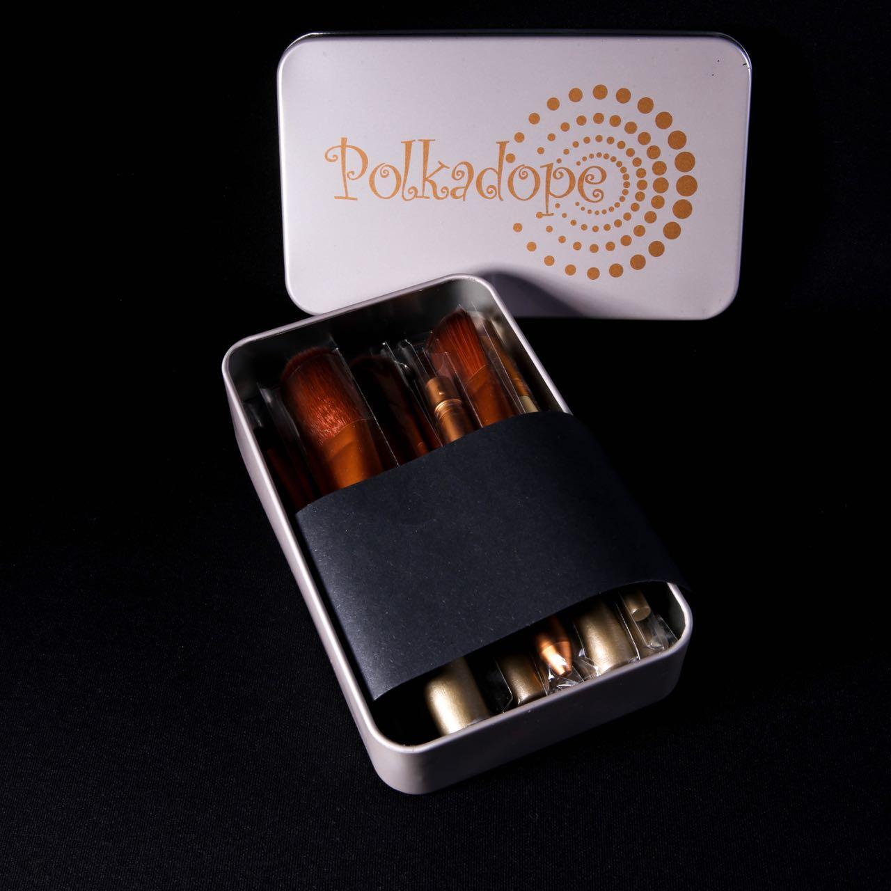 Lucky Kuas Makeup Set Isi 5 Pcs 1 Biru Produk Terbaik Wiki Harga Mac Brush 12 Make Up Polkadope