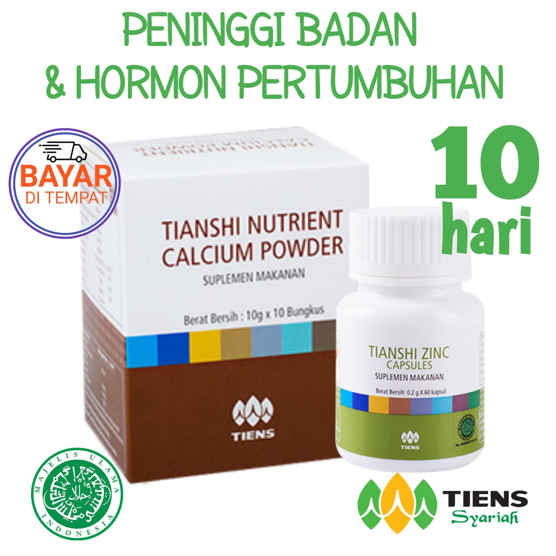 Harga Tiens Peninggi Badan Paket 1 Box Calsium 1 Botol Zinc Promo Banting Harga Free Member Voucher New