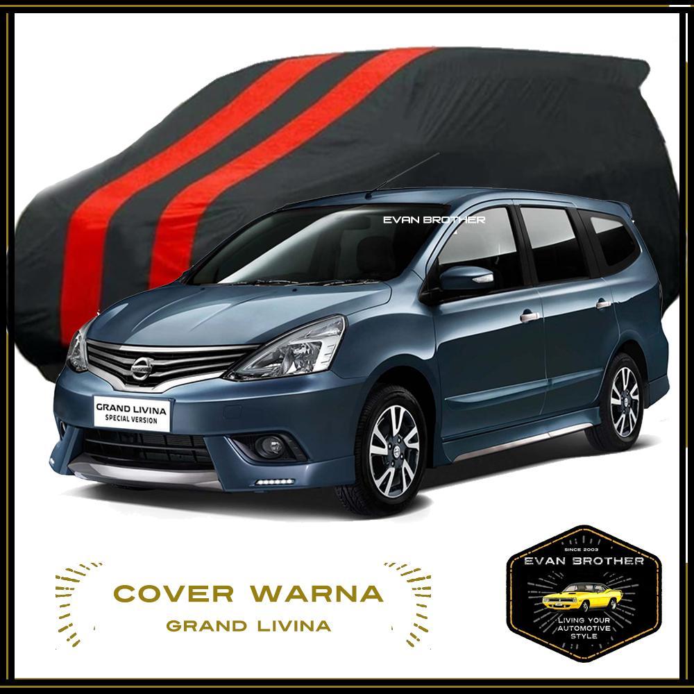Body cover Livina X-Gear / Sarung mobil Livina Waterproof / Cover mobil Livina