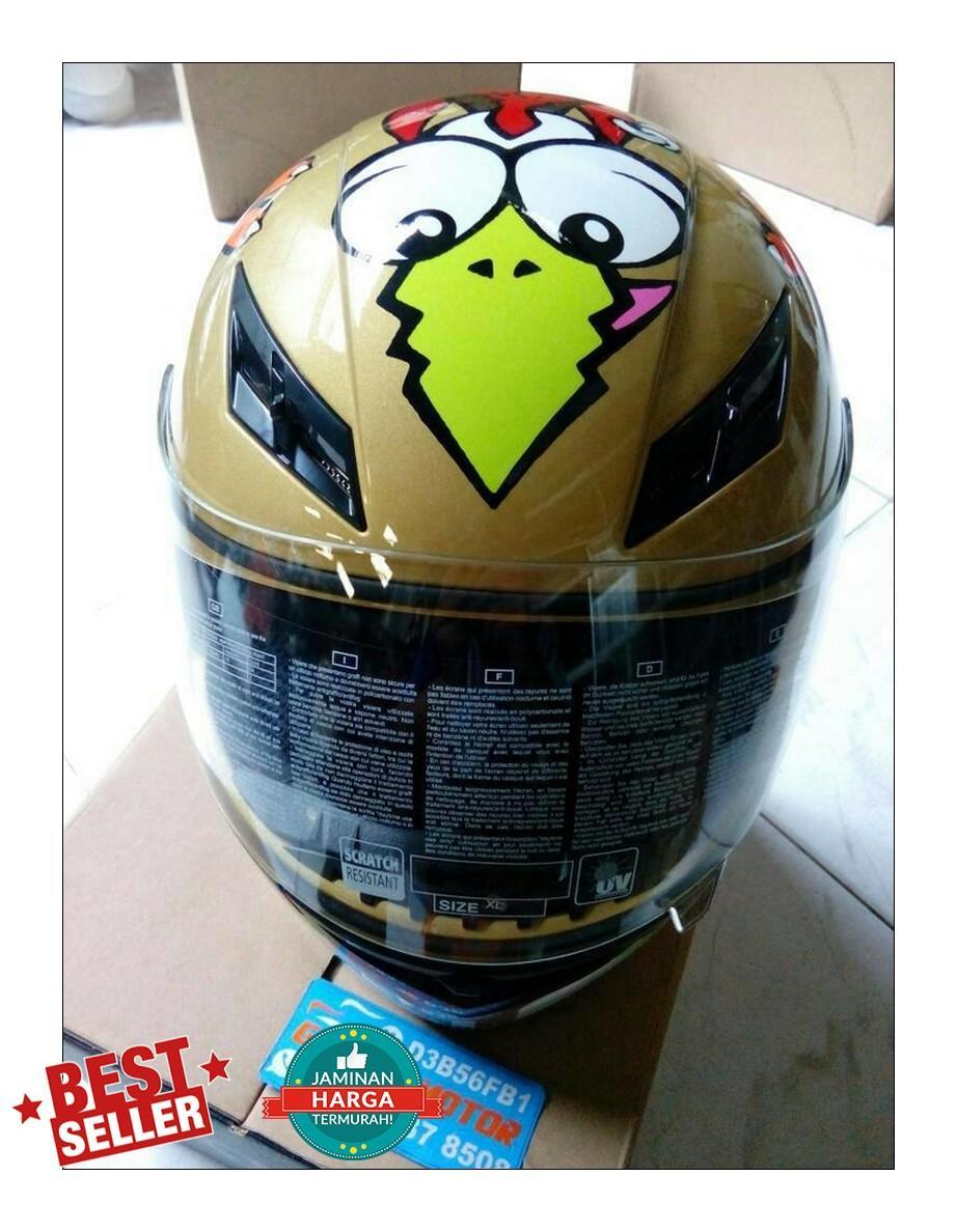 Fitur Agv K3 Sni Rossi Chicken Dan Harga Terbaru Katalog Lengkap Visor Helm 3
