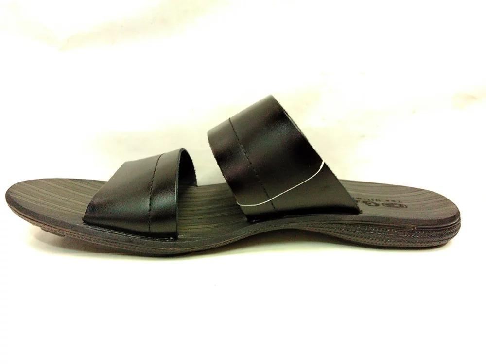 ... Sandal Kulit Gats SR 002 - Black - 4