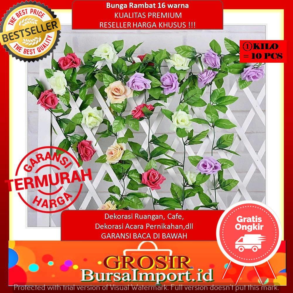 (READY)16 Warna BUNGA RAMBAT BUNGA Dekorasi Ruangan Bunga Artifisial Bunga  Palsu f6ec663fbf