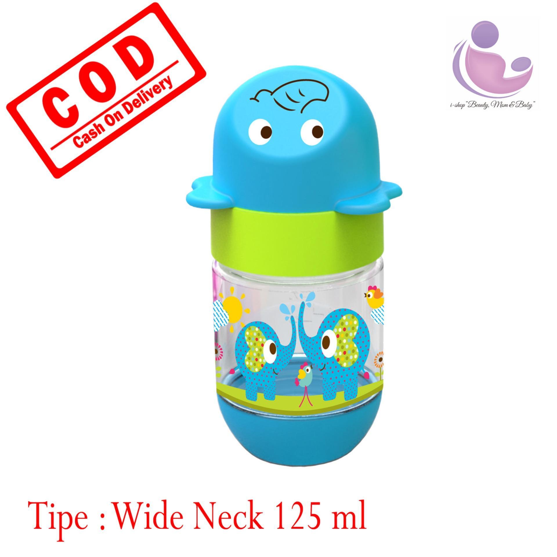 i.shop Baby Safe Wide Neck Feeding Bottle 125 ml / Botol Susu Bayi Leher