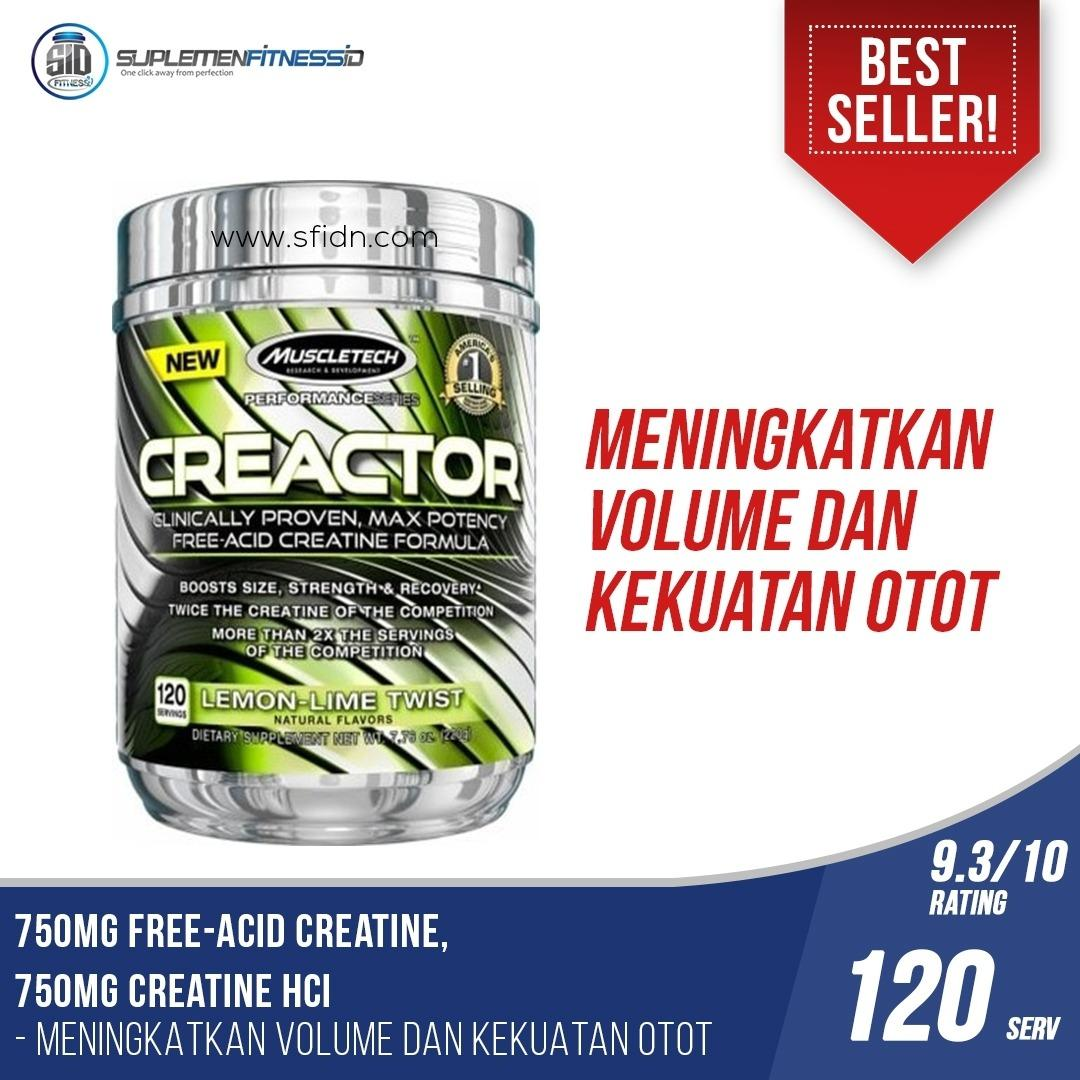 Muscletech Creactor 120 X Serving Muscletech Diskon 50