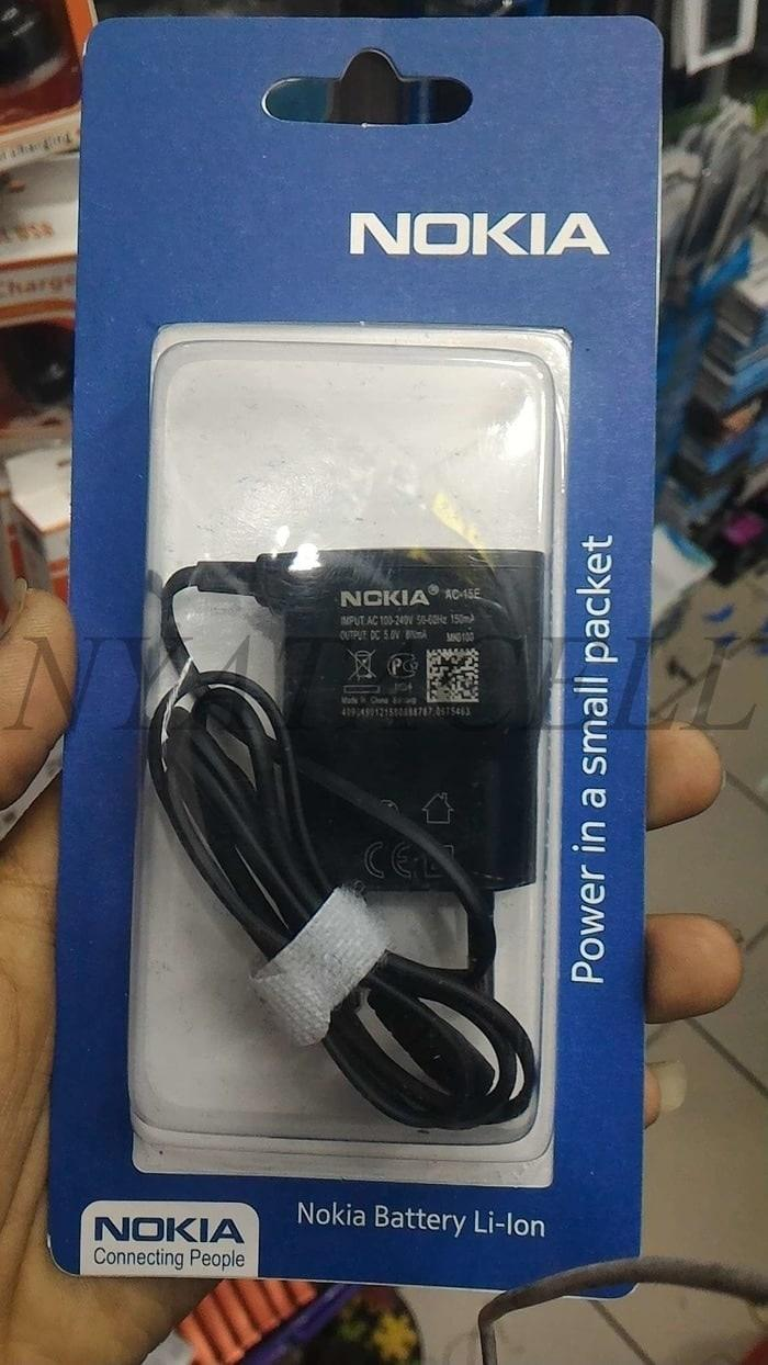 Charger Nokia Lubang Kecil N95 AC-15E Ori / Original