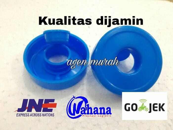 [ GARANSI 100% ] Tutup Aqua Galon Dispenser anti tumpah @ dispenser galon bawah /