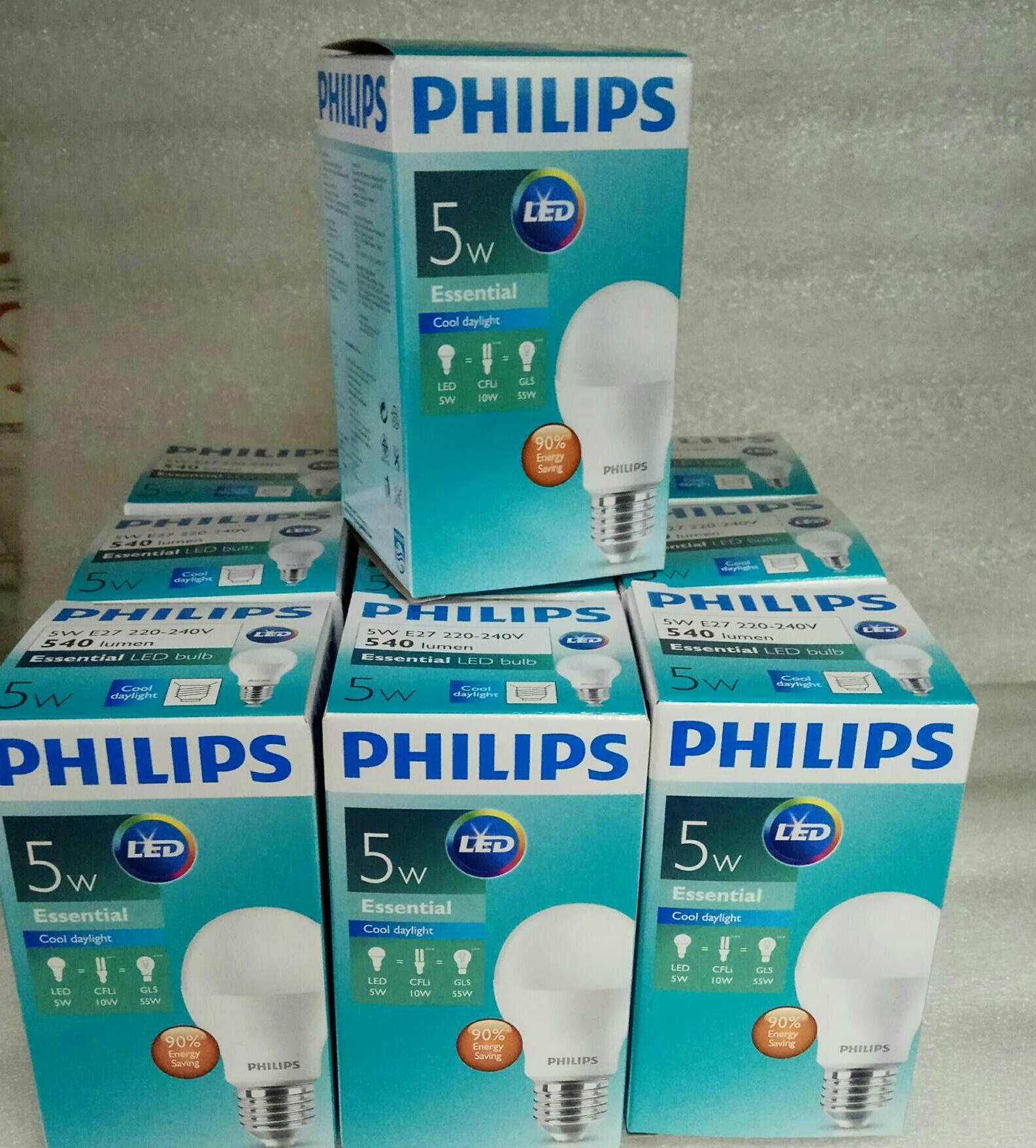 Lampu Philips Led Essential 5 watt /isi 10 pcs - 4