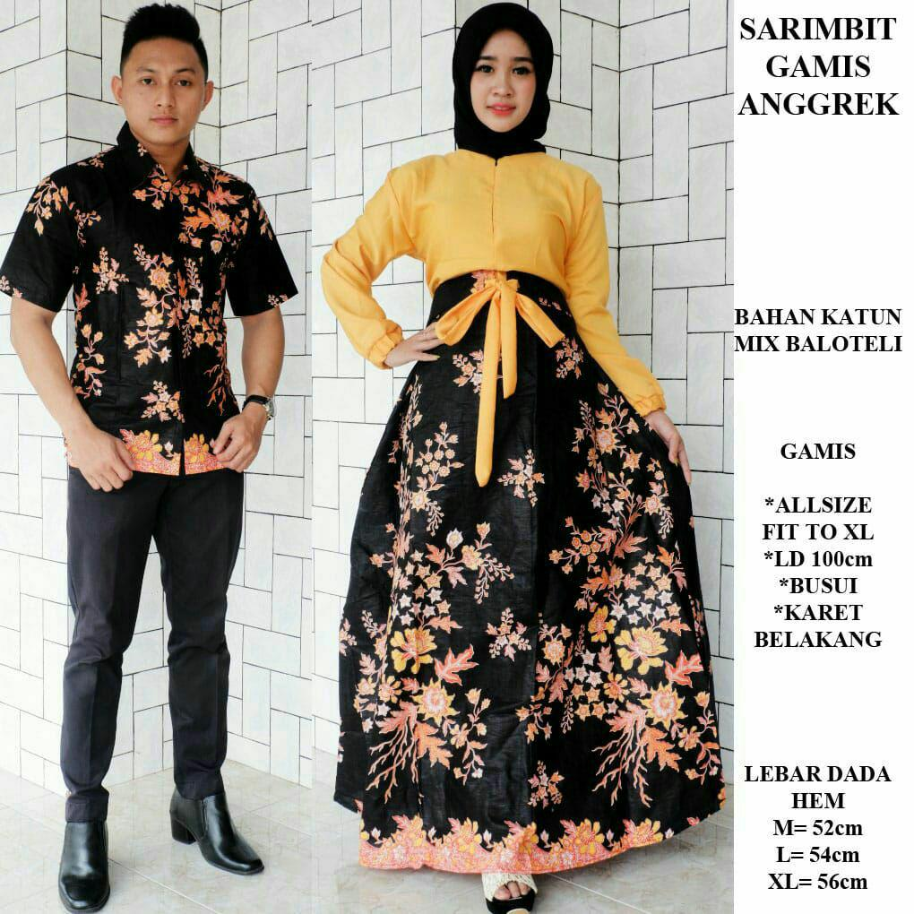 Batik sarimbit gamis exclusive